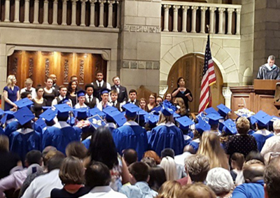 Carbon-neutral Graduation at City Middle/High School
