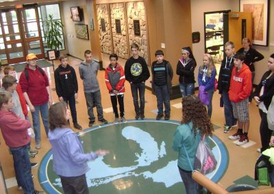 Schoolwide Stewardship Education at Whitehall Middle School in Whitehall, Michigan (a suburban middle school)